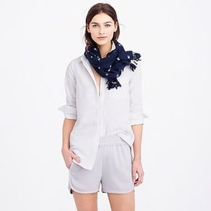J. Crew Pull On Crepe Shorts